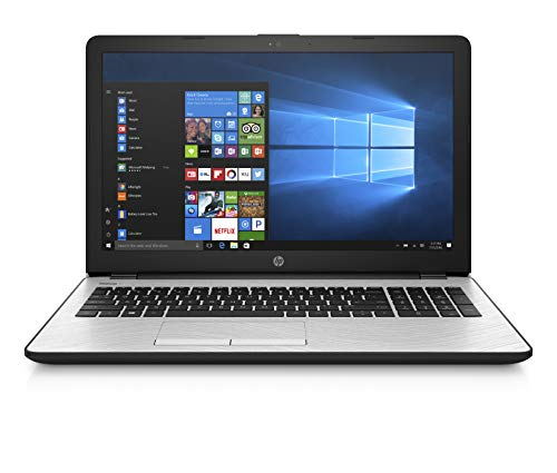 "HP 15.6"" HD Intel i3-7100U 4GB RAM 1TB HDD USB 3.1 Windows 10 Silver L"