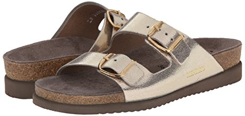 Mephisto Womens Harmony Leather Sandals Platino