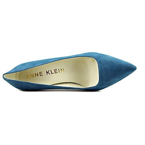 Anne Klein Donne Hollyn Pompa Vestito Di Pelle Scamosciata Color Turchese