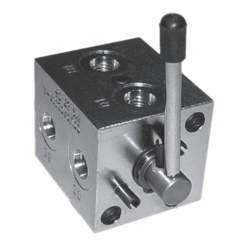 Holmbury OCUKAC2318 Pattern Changer Valve, Carbon Steel, Nitrile Seals, -40°F-223°F Temperature Range by Holmbury