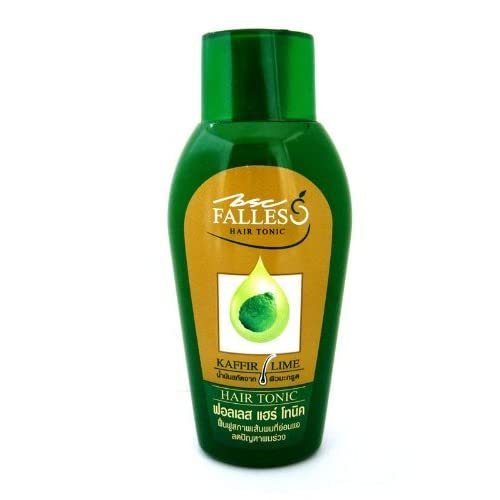 Falles Hair Tonic Stop & Prevent Hair Loss Weakened Fall Falling Bald 90 Ml Made in Thailand