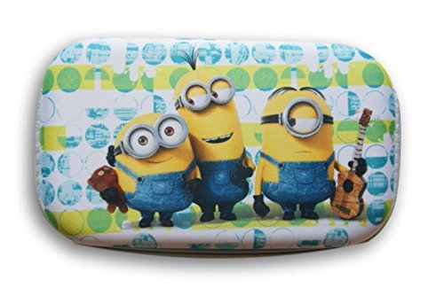 Despicable Me Minions Zip Close School Supply Pencil Hard Case - 8'' x 5''