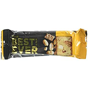 Best Bar Ever Protein Food Bar, 16 grams Protein, 65 gram Bars, 12 Count, Peanut Butter Crunch