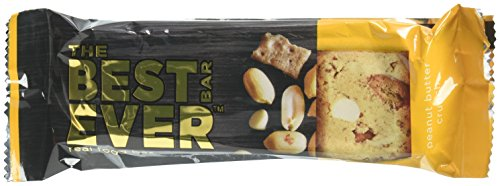 Best Bar Ever Protein Food Bar, Chocolate Peanut Butter Crunch, 12 Count by Best Bar Ever
