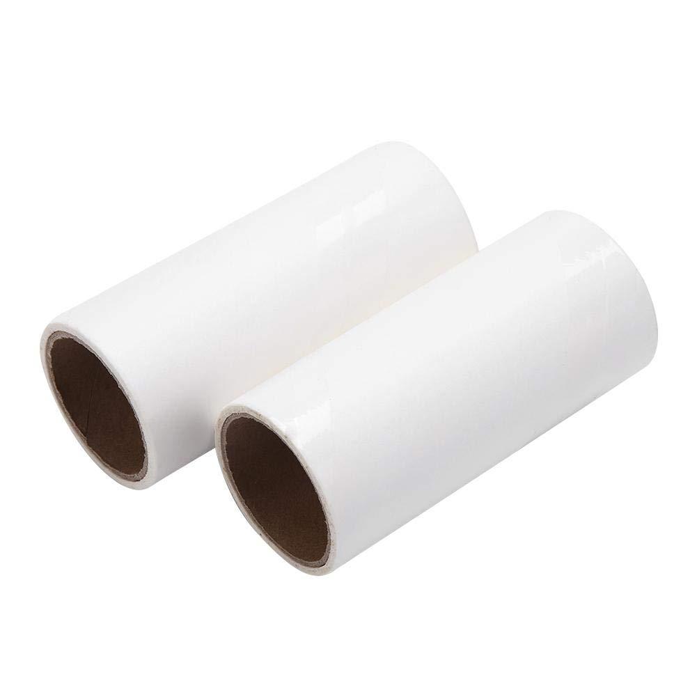 Handle + 2 paper Rullo Appiccicoso Spazzola Per Spazzole Adesivo Multifunzione Peli Di Animali Domestici Tappeto Pavimenti Divano Vestiti Lenzuolo Tappeti Prodotti La Pulizia Della Polvere