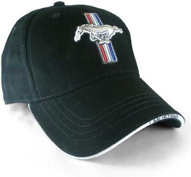 Ford Mustang Licensed Cotton Brim Emblem Black Hat
