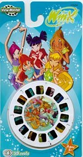 WINX Club - ViewMaster 3 Reel Set by 3Dstereo ViewMaster