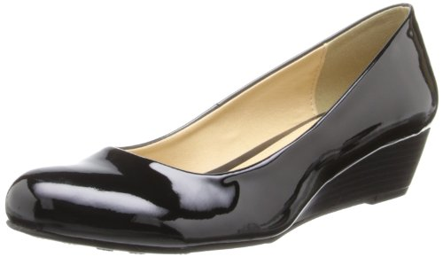 CL by Chinese Laundry Women's Marcie Wedge Pump, Black Patent,7 M US Chinese Laundry Womens Shoes