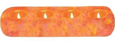 WBM Himalayan Natural Crystal Salt 4 Tealights Candle Holder