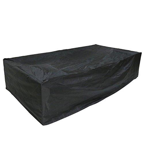 ver Weatherproof 7Pcs Wicker/Rattan Sofa Cover ()