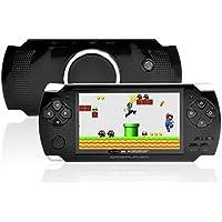 Gadget-Wagon ECO-1 8 GB 4.3 Inches With FM Radio & 1.3 MP Camera (B) 8 GB With Contra, Mario, 10000 Games Inbuilt(Black)
