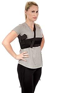 CCW Tactical Shoulder Holster for Deep Concealment Underarm Gun Holster for Men and Women, Fits Most Handguns, Black
