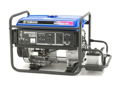 Yamaha EF4000DE, 3500 Running Watts/4000 Starting Watts, Gas Powered Portable Generator, CARB Compliant