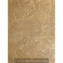 5807075 SAMPLE 8x10 INCHES Crepe Bronze Village Paper Illusions Wallpaper Torn Faux Finish Wallpaper Illusion PaperIllusion SAMPLE