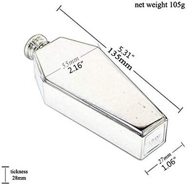 XINGYUE Mini frasco de la cadera portátil 3.5oz whisky vodka acero inoxidable frasco de la cadera hombres regalo frasco botella
