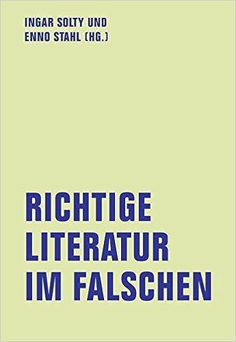 Book Richtige Literatur im Falschen?