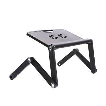 Mesa plegable para portátil o pc con ventilador refrigerante ...