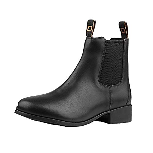 - Dublin Adults Leather Foundation Jodhpur Boots (9.5 US) (Black)