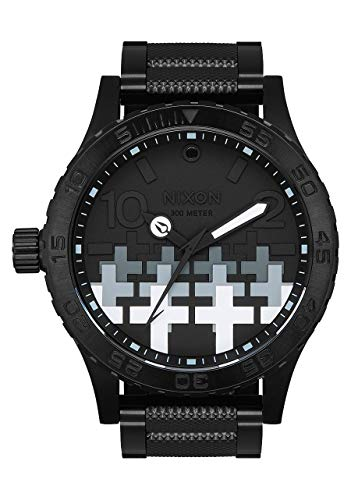 Nixon Men's 51-30 Metallica Collection Black/Master of Puppets One Size (Nixon 51 30 Tide Watch)