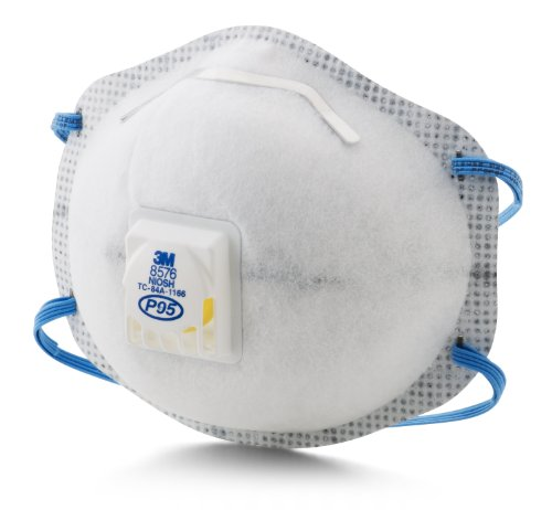 3M Particulate Respirator 8576, P95, with Nuisance Level ...