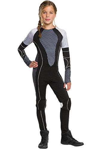 Rubie's Costume The Games Catching Fire The Hunger Games Katniss Costume, Medium, One Color]()