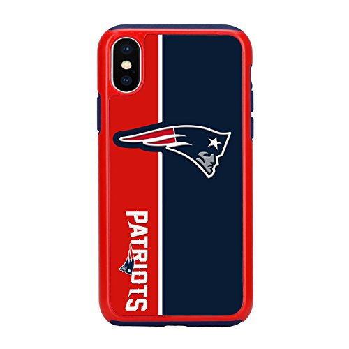 Forever Collectibles iPhone X Dual Hybrid Bold Case - NFL New England Patriots