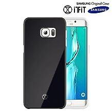 Galaxy S6 Edge+ Case, Original Samsung [LightBack] Slim [Safe Reflect] [Shock Absorbing] Cover [Light Reflection] Hard Mirror Case for Samsung Galaxy S6 Edge Plus - Black