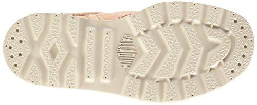 Palladium Bgy Low Zi Lp K - Zapatillas de deporte Unisex niños Rosa - Rose (D19 Soft Pink/Cement Gray)