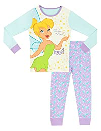 Disney Fairies Girls Tinkerbell Pajamas