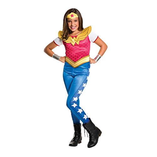 Rubie's Costume Kids DC Superhero Girls Wonder Woman Costume, Large