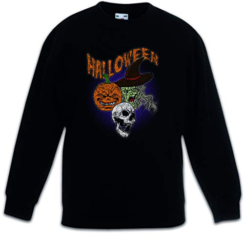 Urban Backwoods Halloween Faces Kids Children Boys Girls Sweatshirt Pullover