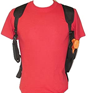 Federal Shoulder Holster for Glock 17,22,31,37, Dbl Mag Pouch Vertical Carry