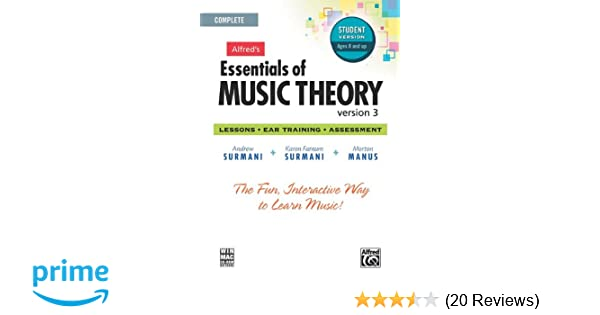 Alfred's Essentials of Music Theory Software, Version 3 0
