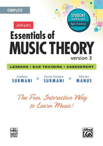 Alfred's Essentials of Music Theory Software, Version 3.0: Complete Student Version, - Music Part Theory