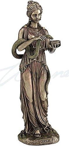 Hygeia Greek Goddess of Health Statue Sculpture -  Unicorn Studios, WU76903A4