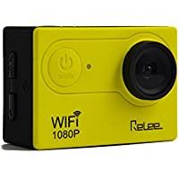 WIFI Action Sports Camera FULL HD 1080P Waterproof DV Camcorder with 2 PACK BATTERIES and Battery Charger 170 Degree Wide Angle
