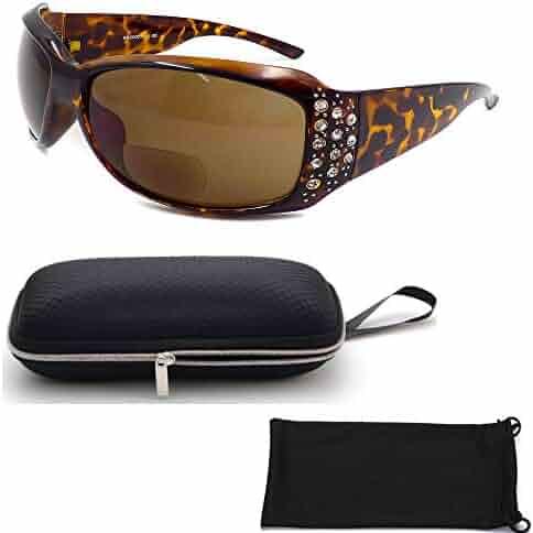 8ef5289678a5 CPS Retro Classic Vintage Designer Fashion Bi-Focal Sunglasses Reading  Glasses for Women UV400 Protection