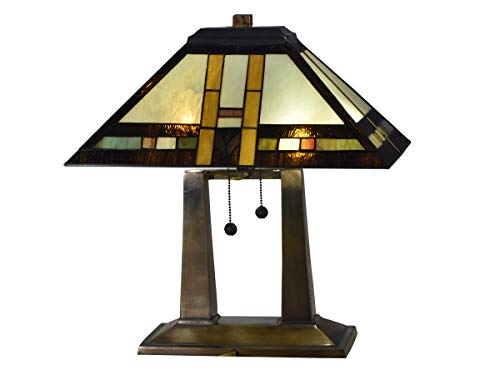 Dale Tiffany TT17077 Sedona Mission Table Lamp, 19