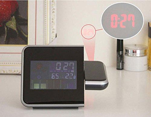 Amazon.com : Projection LCD Digital Alarm Clock Projector Color Display LED Backlight Table Desktop Clocks Reloj Despertador : Everything Else