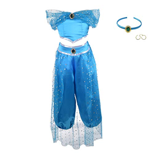 Lito Angels Girls Princess Jasmine Costumes Arabian Princess
