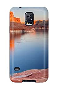 Hard Plastic Galaxy S5 Case Back Cover,hot Padre Bay Lake Powell Utah Case At Perfect Diy