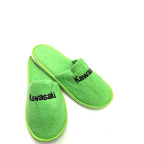 Kawasaki Hausschuhe Pantoffeln ! Slipper Schuhe ! grün Gr.39-40