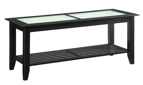 Convenience Concepts Carmel Coffee Table, Black