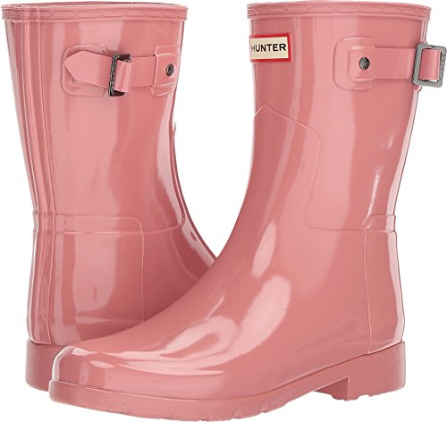 Rose Pale Boots Boots Women's Short Gloss Original Refined Hunters 8Z0xwUZ