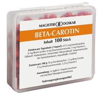 Doskar Beta-Carotin Kapseln 100 Stück