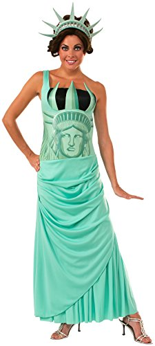 Rubie's Women's Lady Liberty Costume, Multicolor, Standard