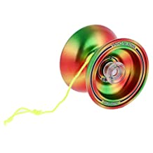 MonkeyJack Cool Alloy Design Professional YoYo Ball KK Bearing String Trick Toy Kid Beginner Advanced User