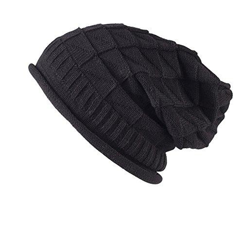 Colección de gorros de montaña combados, flexibles de punto con patrón de croché Style 04