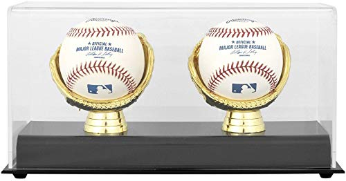 Mlb Unsigned Bats - Gold Glove MLB Double Baseball Display Case