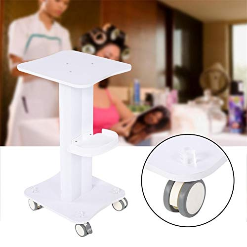 SOTROLLEY ABS Salon Cart Beauty Hairdresser Trolley Salon Use Pedestal Rolling Cart Wheel Stand Beauty Tool Station for Beauty ()